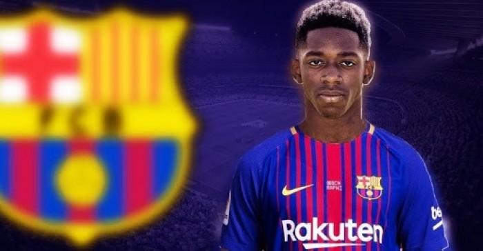 برشلونة يحدد صفقته الجديدة بعد إصابة عثمان ديمبيلي