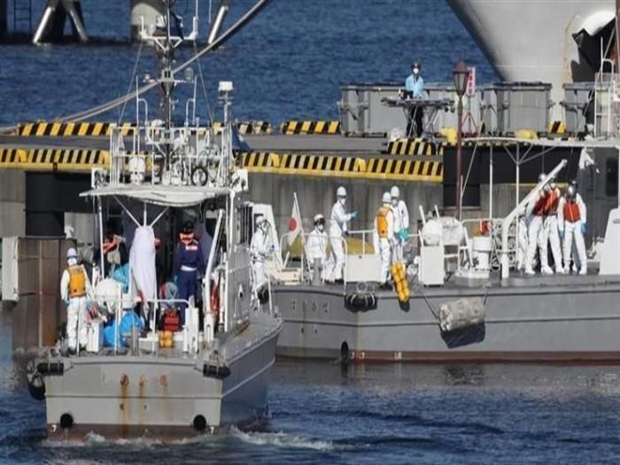"""اليابان.. إصابة 39 شخصًا بـ""""كورونا"""" على متن سفينة سياحية"""