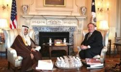 وزير الخارجية السعودي يلتقي نظيره الأمريكي في واشنطن