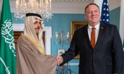 بومبيو: الشراكة مع السعودية مهمة للتصدي لسلوك إيران