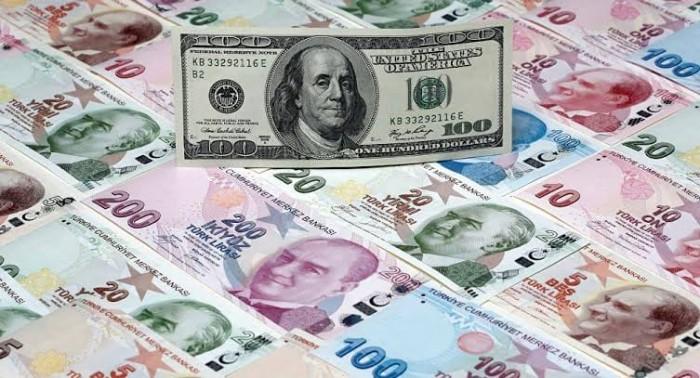 الحرب في سوريا وتدخلات أردوغان تهبط بالليرة التركية  وتصعد بالدولار