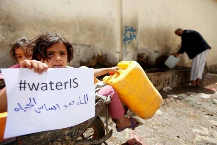 الحرب والمياه.. بين الإمداد السعودي والسرطان الحوثي