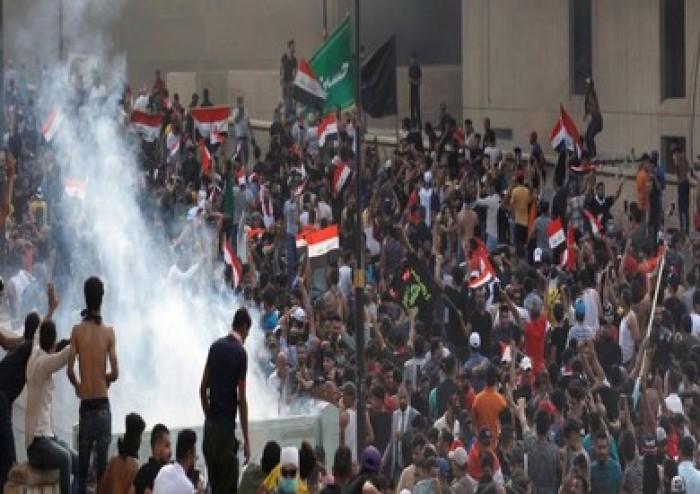 قيادة عمليات بغداد تطالب المتظاهرين السلميين بعدم الاحتكاك بالقوات الأمنية