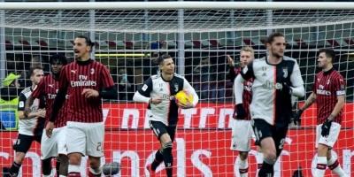 رونالدو يحرم ميلان من الفوز بهدف قاتل في كأس إيطاليا