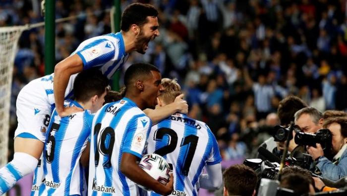 فوز باهت لسوسييداد على ميرانديس في ذهاب قبل نهائي كأس ملك إسبانيا
