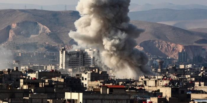 د ب أ: سماع أصوات دوي انفجارات في دمشق