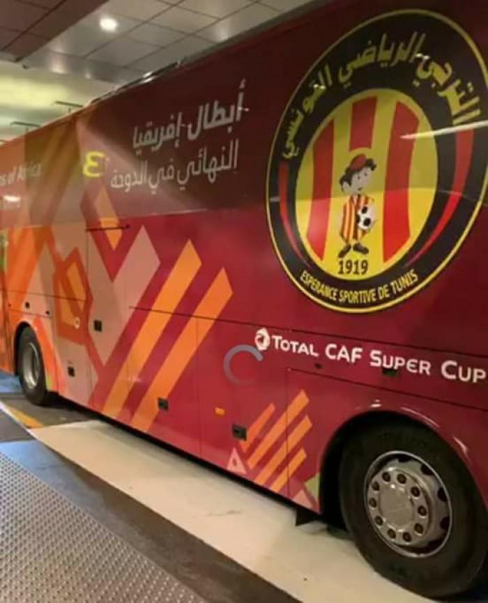 صحف تونسية: تعرّض حافلة الترجي للاعتداء في قطر