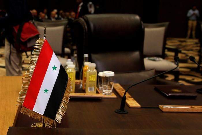 الجزائر تطالب بإعادة سوريا في جامعة الدول العربية
