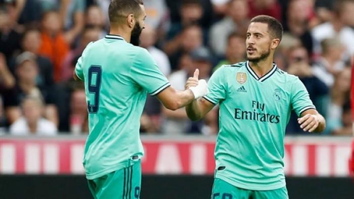 هازارد يعود لقائمة ريال مدريد أمام سيلتا فيجو