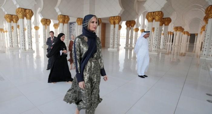 إيفانكا ترامب تناقش مبادرة التمكين بمنتدى المرأة العالمي في دبي