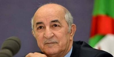 الرئيس الجزائري: إرادة الشعب لا تقهر لأنها من الله