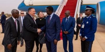 بومبيو يزور السنغال في أول زيارة رسمية إلى غرب أفريقيا