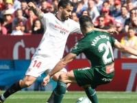 التعادل يخيم على مباراة أشبيلية وإسبانيول في الدوري الإسباني