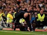 موقف محرج لـ زيدان خلال مباراة ريال مدريد وسيلتا فيجو
