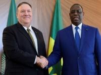 بومبيو في زيارة إلى السنغال لبحث جهود منع انتشار الإرهاب بأفريقيا