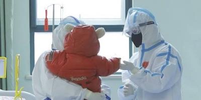 شفاء أصغر مصابة بفيروس كورونا