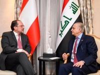وزير الخارجيّة العراقي يلتقي مع نظيره النمساويّ