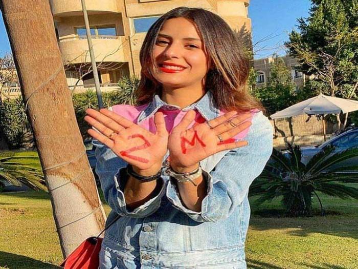"""ريهام أيمن تحتفل بوصولها 2 مليون متابع على """"انستجرام"""""""