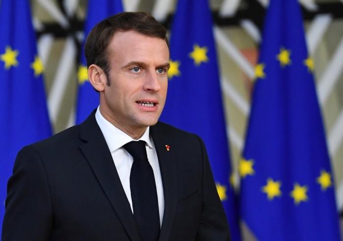 الرئيس الفرنسي: لن نسمح بتطبيق القوانين التركية على أراضينا