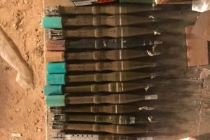 التحالف العربي يضبط كمية من الصواريخ والأسلحة في محافظة المهرة (صور)
