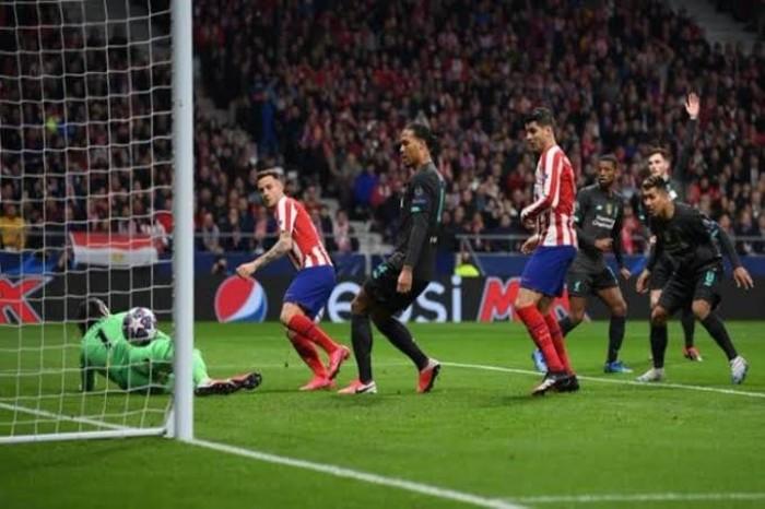 بهدف نظيف.. أتليتكو مدريد يفوز على ليفربول في ذهاب دور الـ16 بدوري أبطال أوروبا