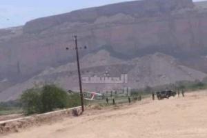 عاجل.. سقوط مروحية تابعة للجيش اليمني بحضرموت