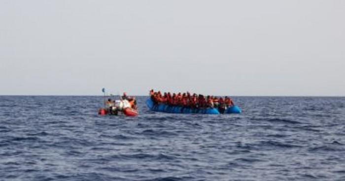 الهجرة الدولية: فقدان 91 مهاجرا كانوا على متن قارب مطاطى فى البحر المتوسط