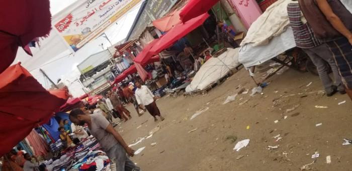 حملة لإزالة التعديات بأسواق الشيخ عثمان (صور)