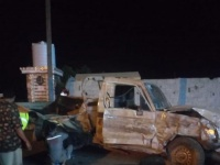 11 ضحية لانقلاب طقم في تبن