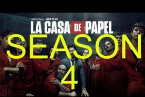 طرح إعلان الجزء الرابع للمسلسل الشهير La Casa De papel