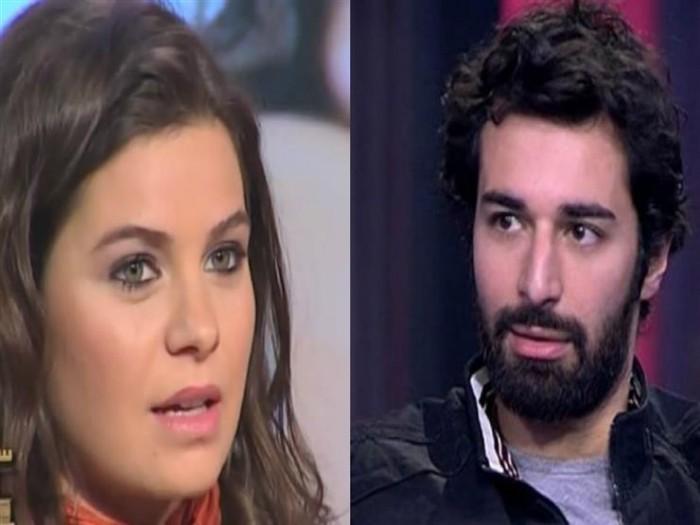 مشادة بين يسرا اللوزي وأحمد حاتم بسبب مباراة السوبر المصري