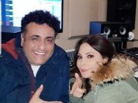 """بصحبة محمد رحيم.. إليسا تنتهي من تسجيل أغنية """"عظيمة"""""""