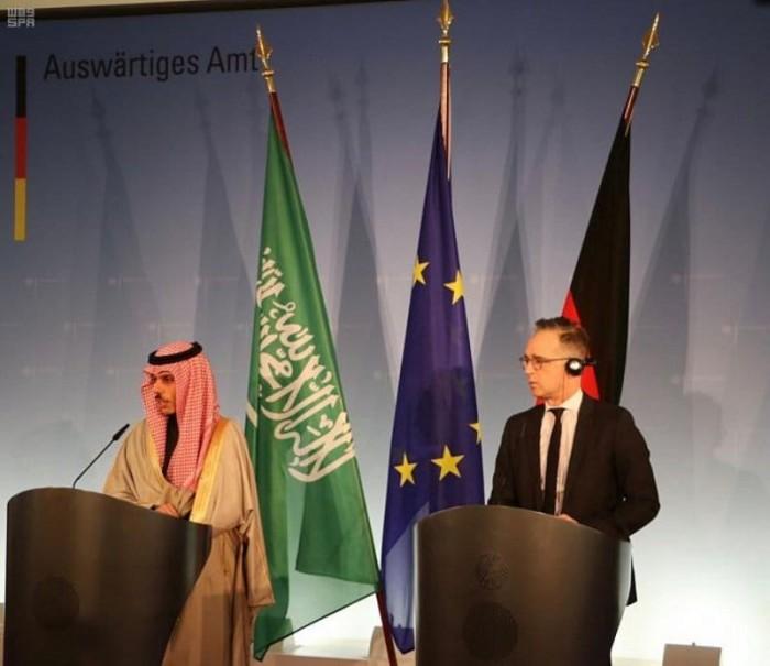 مباحثات سعودية ألمانية حول تهديدات إيران بالمنطقة