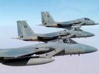 ضربات جوية على تحصينات حوثية في نهم والغيل