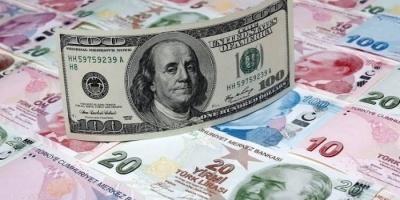 الليرة التركية تتراجع مقابل الدولار لتبلغ أدنى مستوياتها