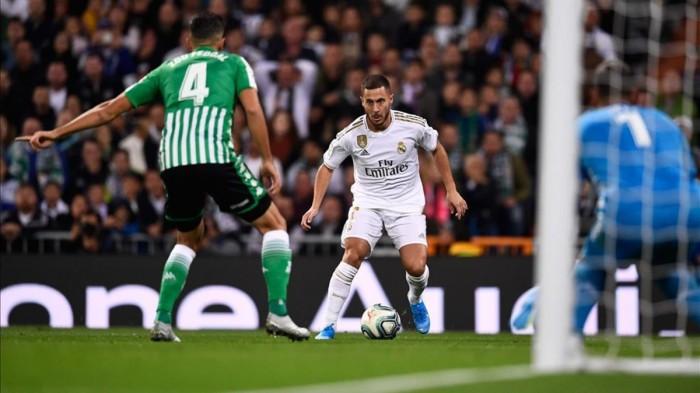 هازارد يقود هجوم ريال مدريد أمام ليفانتي