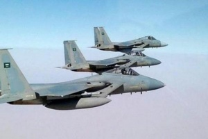 مقاتلات التحالف تدمر أطقم حوثية غرب الجوف