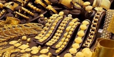 الذهب يحافظ على ارتفاعه بالأسواق اليمنية اليوم الأحد
