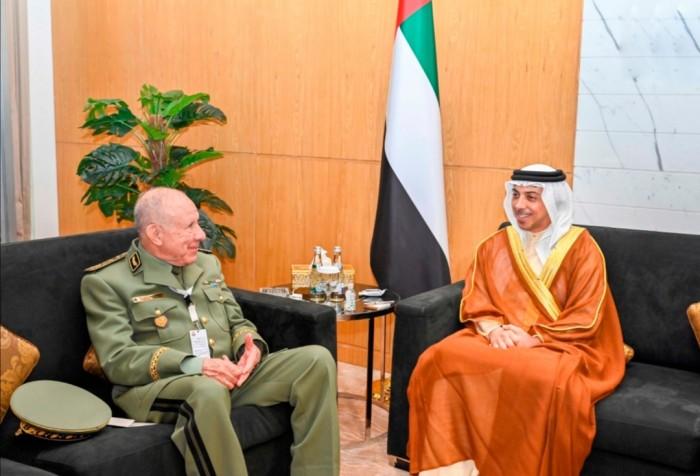 الإمارات والجزائر تبحثان سبل تعزيز وتطوير العلاقات في مختلف المجالات
