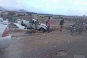 مصرع شخصين بحادث مروري في مديرية تبن بلحج