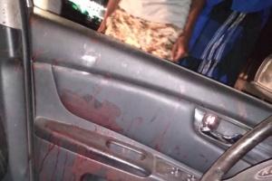 العثور على سيارة مُلطخة بالدماء في دارسعد