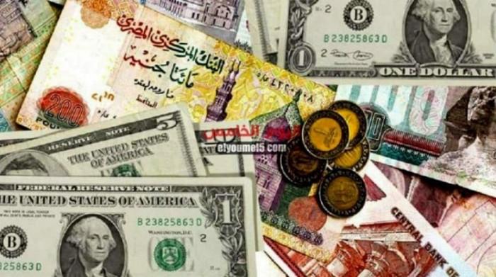 استقرار سعر الدولار في البنوك المصرية عند 15.51 جنيه