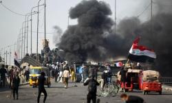عاجل.. قتيل و7 جرحى في إطلاق نار للأمن العراقي على محتجين