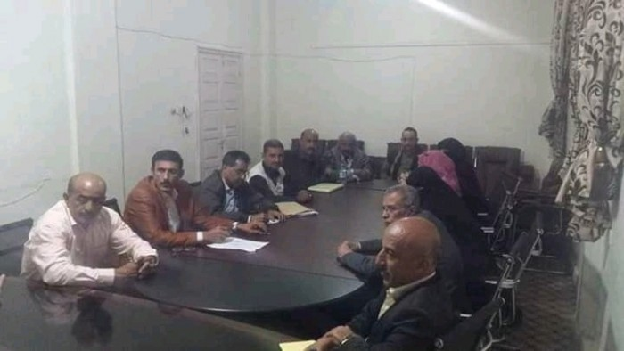 اجتماع حزب المؤتمر الشعبي في تعز