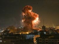 إصابة 7 فلسطينيين في غارات إسرائيلية على غزة