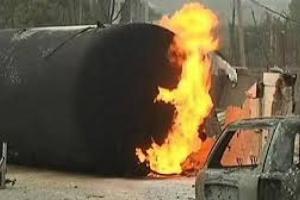مصرع 3 أطفال وإصابة آخرين في انفجار خزان غاز بمقدونيا