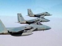 مقاتلات التحالف تدك مواقع الحوثيين في صنعاء والجوف