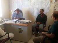 مناقشة تدخلات المنظمات الإنسانية في مديرية المسيمير بلحج