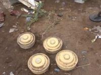 تفكيك حقل ألغام حوثي داخل حي سكني بالحديدة