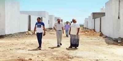 بدعم إماراتي..افتتاح 46 وحدة سكنية بمنطقتي زاحق ودفعرهو بسقطرى